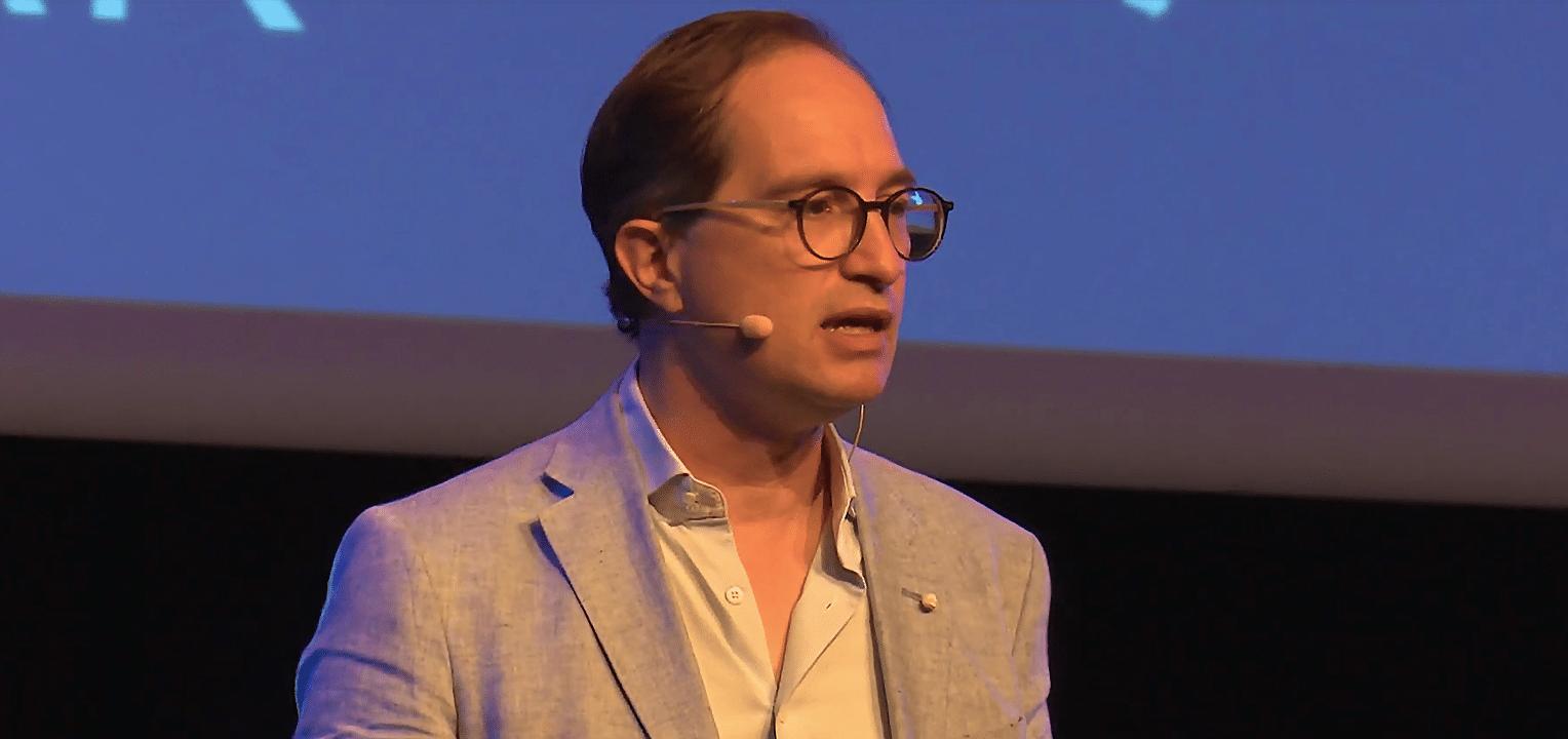 Keynote speaker Peter Hinssen